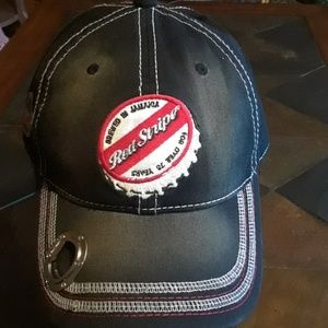 Other - Red Stripe cap